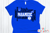Paramedic Word Art | SVG Cut File