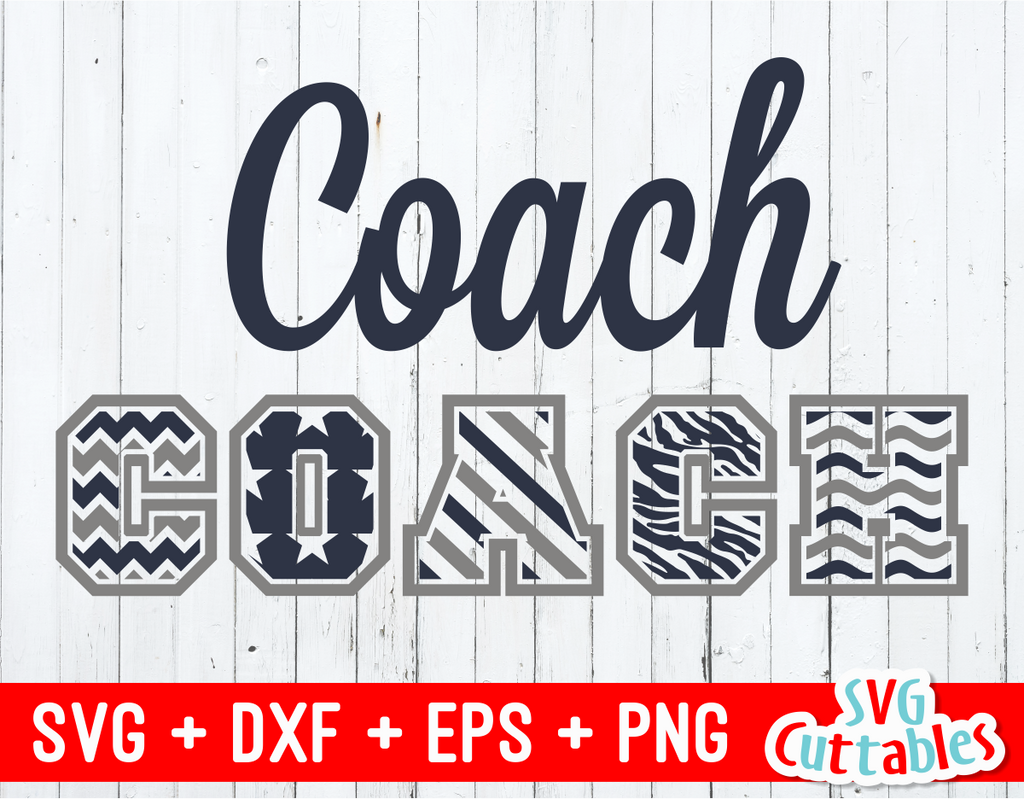 Pattern Coach | svg cut file