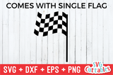 Racing Flag |  SVG Cut File
