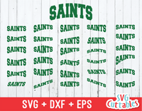 Saints Mascot Layouts