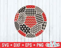 Patterned Soccer Ball