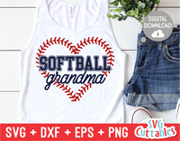 Softball Grandma | SVG Cut File