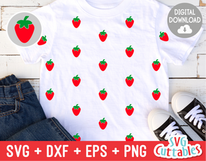Strawberry svg, Strawberry Print Cut File