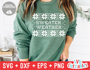 Sweater Weather | Christmas Cut File
