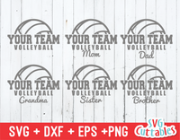 Volleyball, Volleyball Mom svg cut file