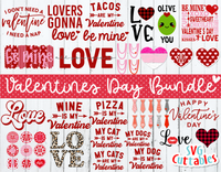 Valentine's Day Bundle 1  | svg Cut File