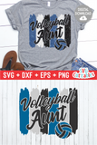 Volleyball Aunt svg - Volleyball svg