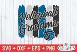 Volleyball Grandma svg - Volleyball svg