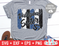 Volleyball Sister svg - Volleyball svg
