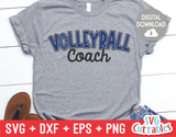 Volleyball Coach | SVG Cut File