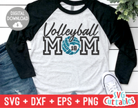 Volleyball Mom | SVG Cut File