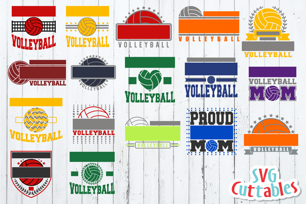 Volleyball Template Bundle #1