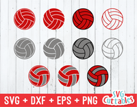 Volleyball svg, Volleyball ball collection
