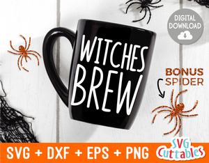 Witches Brew  | Halloween SVG Cut File