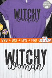 Witchy Woman  | Halloween SVG Cut File