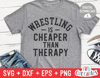 Wrestling Is Cheaper Than Therapy