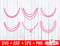 Necklace SVG Set of 6