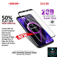 Buy Samsung Tempered Glass For S-Series - Elephagiantmart.com