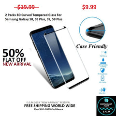 Buy Tempered Glass For Samsung Galaxy S8, S8 Plus, S9, S9 Plus - Elephagiantmart.com