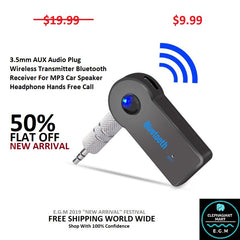 Buy Wireless Transmitter Bluetooth Receiver - Elephagiantmart.com