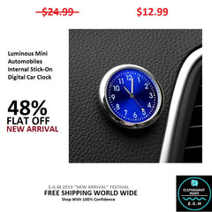 Buy Automobiles Stick-On Digital Car Clock - Elephagiantmart.com