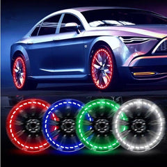 Buy LED Car Motorcycle Wheel Tyre Decoration Light - Image 1 - Elephagiantmart.com