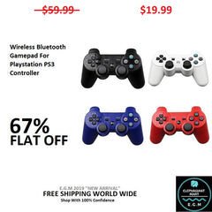 Wireless Bluetooth Gamepad For Playstation PS3 Controller