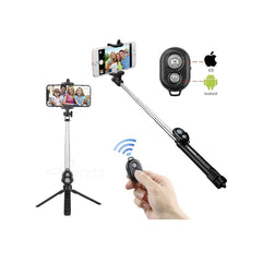 Buy Wireless Bluetooth Selfie Stick With Remote - Image 1 - Elephagiantmart.com