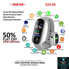 Buy Smart Wristband Smart Watch - Elephagiantmart.com