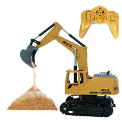 2.4G Remote Control RC Crawler Digger Excavator Tractor Stimulation Toy