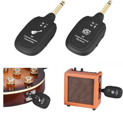 Electric Guitar Bass Violin Wireless Audio Transmission Set with Receiver Transmitter