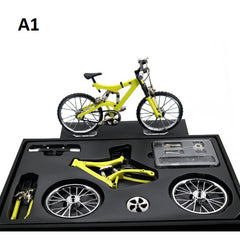 Bicycle Model Simulation DIY Alloy Mountain/Road Bicycle Decoration Gift Set