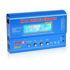 iMAX B6 80W 6A Battery Charger Lipo NiMh Li-ion Ni-Cd Digital RC Balance Charger Discharger + 15V 6A Adapter