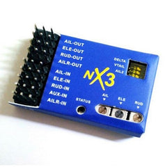 NX3 3D Flight Controller Gyroscope Balance For Fixed-wing RC Aircraft/Airplane.
