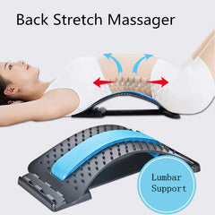 Lumbar Support Relaxation Spine Pain Relief Stretch Equipment Massager