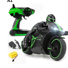 2.4G High Speed Remote Control RC Motorcycle Motorbike Toy For Kids