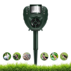 Pest Control Outdoor Garden Ultrasonic Animal Repeller Expeller