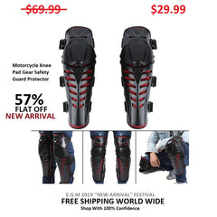 Motorcycle Knee Pad Gear Safety Guard Protector
