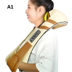 Shawl Heat Device Cervical Back and Neck Electric Roller Massager