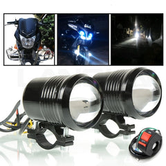 Motorcycle Led 30W 12V 1200LM Auxiliary Lamp Fog Spot Head Light
