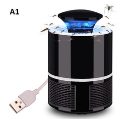 Electric Mosquito Killer Repeller LED Lamp Home Living Room Pest Control Device