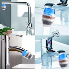 Household Kitchen Faucet Activated Carbon Water Purifier Filter
