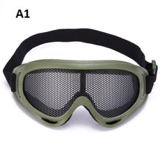 Airsoft Safety Tactical Hiking Hunting Eyewear Protection Pinhole Glasses