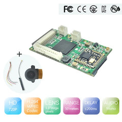 2.4G WiFi 720P HD P2P Cloud Server, WiFi/Linux/Robot/FPV/Drone Video Camera Module.