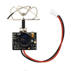 TX02 Super Mini AIO 5.8G 40CH 200mW VTX 600TVL 1/4 Cmos FPV Camera For FPV Multicopter.