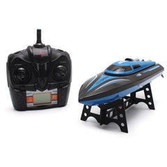 30Km/h 2.4G 3CH RC Sports Boat With Remote Control Toy Gift For Children Kids.