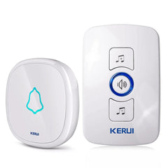 Waterproof Touch Button Smart Home Welcome Door Bell Alarm