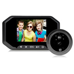 "2 - Mega Pixels Motion Detection Video-eye 3.5"" Smart Peephole Door Viewer"