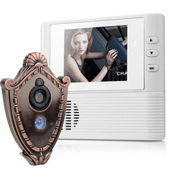 Digital Door Peephole Video Doorbell 0.3M Night Vision Video Record