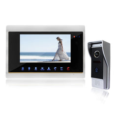 Homefong 7-Inch Wired Night Visual Video Door Phone Doorbell Intercom